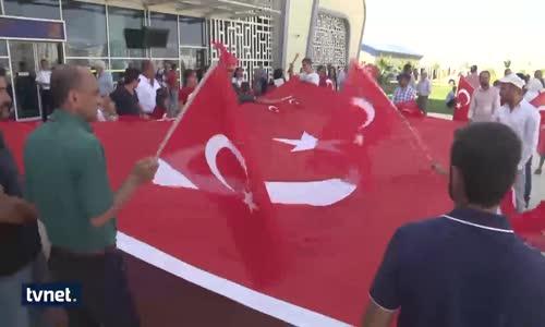 Taburcu Olan 15 Temmuz Gazisi Sevgi Gösterileriyle Karşılandı
