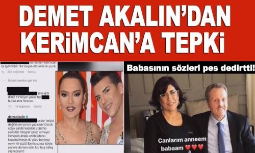 Demet Akalın, Kerimcan Durmaz'ın O Videosu Hakkında Sessizliğini Bozdu