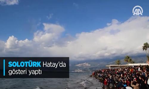Solotürk Hatay' da Gösteri Yaptı