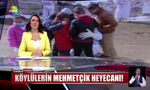 Köylülerin Mehmetçik heyecanı!