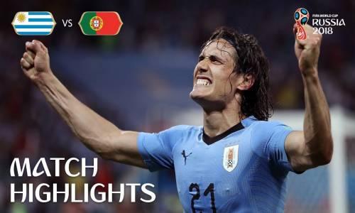 Uruguay 2 - 1 Portekiz - 2018 Dünya Kupası Maç Özeti
