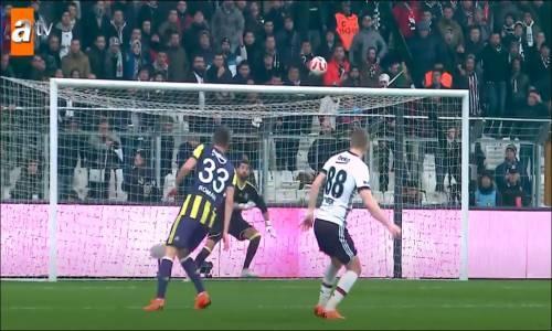 Beşiktaş 2-2 Fenerbahçe Ziraat Türkiye Kupası Maç Özeti