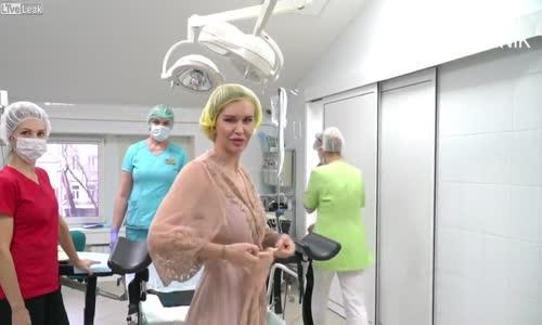 Adel Sergeenkova, Kızlık Zarı Onarım Videosu