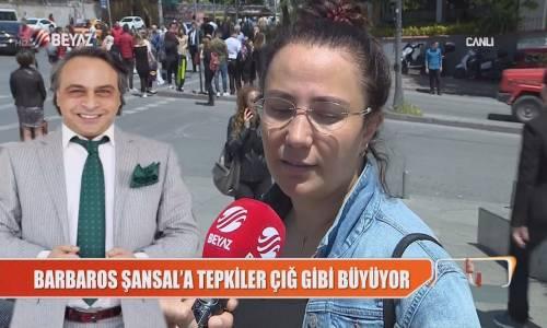 Barbaros Şansal'a Vatandaştan Büyük Tepki!