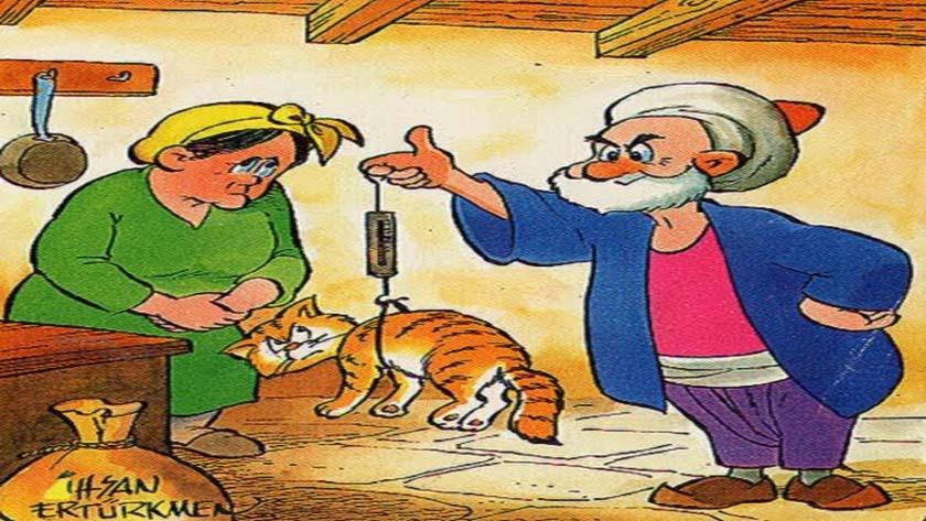 Nasrettin Hoca Fıkraları - Kedi Eti Yedi