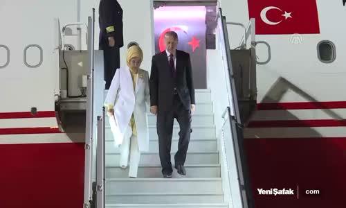 Başkan Erdoğan Güney Afrika'da Böyle Karşılandı