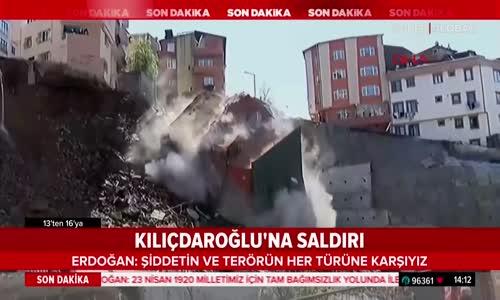 Canlı Yayında Çöken Bina - İstanbul
