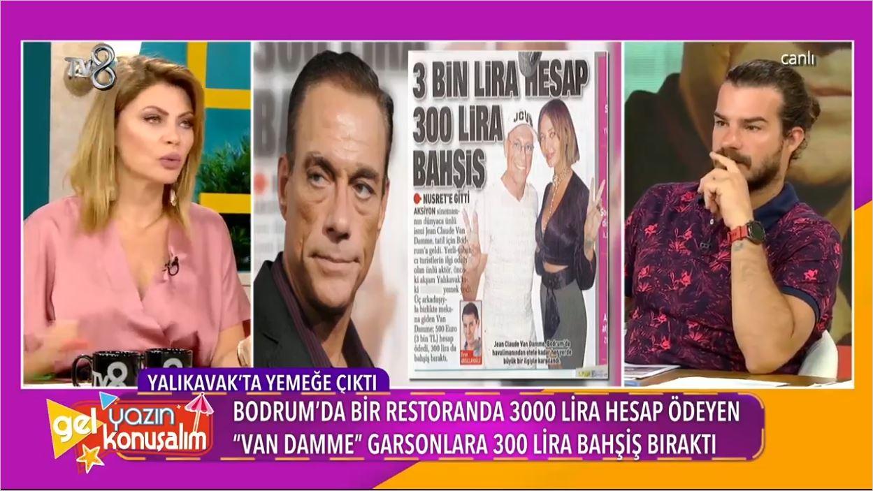 Van Damme Bodrum'da Tatil Yaptı