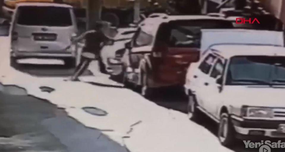Hırsızları Durdurmak İçin Pencereden Atlayan Genç