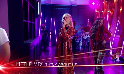 Little Mix - Think About Us (at the BRITs Are Coming)