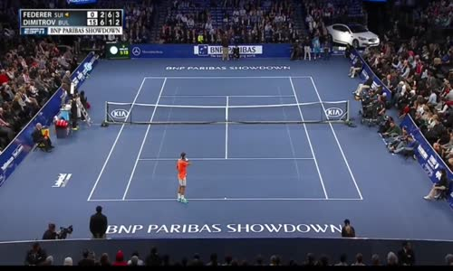 Federer vs Çocuk Tenis Kapışması