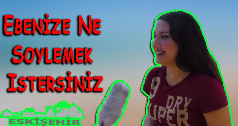 Ebenize Ne Söylemek İstersiniz Süslü Mikrofon Eskişehir'de - 2