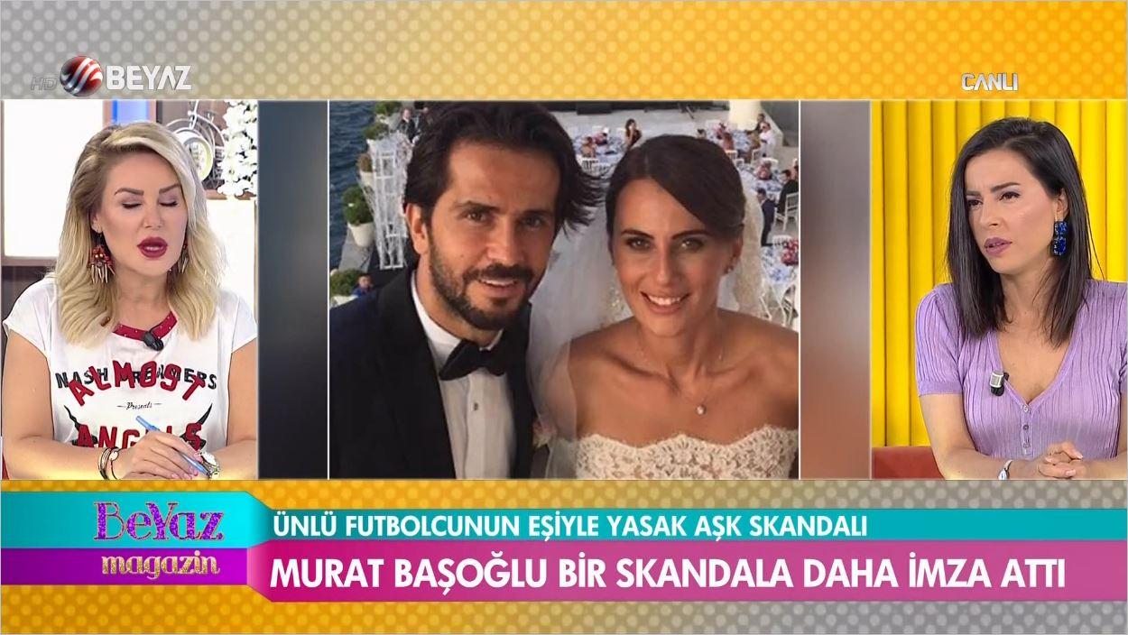 Murat Başoğlu'nun Ünlü Futbolcunun Eşiyle Fotoğrafları Ortaya Çıktı