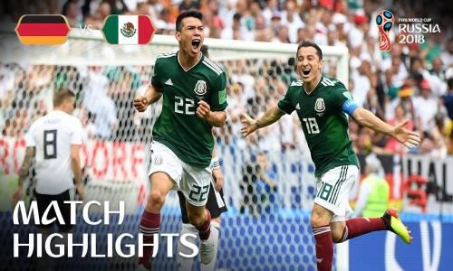 Almanya 0 - 1 Meksika - 2018 Dünya Kupası Maç Özeti