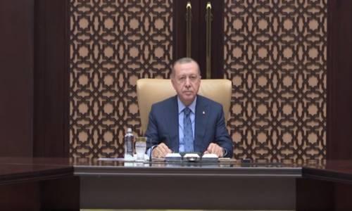 Cumhurbaşkanı Erdoğan, TÜSİAD Yönetim Kurulu Üyelerini Kabul Etti.