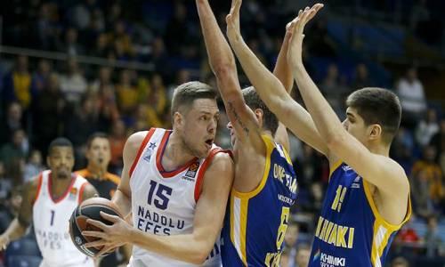 Khimki Moscow Region 77  -  85 KIROLBET Baskonia Vitoria-Gasteiz  Basketbol Özeti İzle