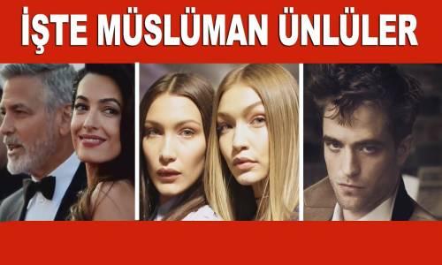İşte Dünyaca Ünlü Müslüman Ünlüler!