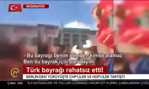 Türk Bayragı Chp lileri Rahatsız Etti