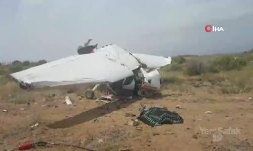 Antalya'da Eğitim Uçağı Düştü- 1 Ölü, 2 Yaralı
