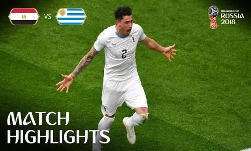 Mısır 0 - 1 Uruguay - 2018 Dünya Kupası Maç Özeti