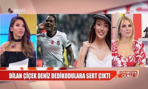 Dilan Çiçek Deniz'den 'Beşiktaşlı futbolcu'dan gelen mesaj' iddialarına sert yanıt
