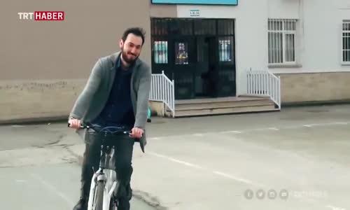 Görme Engelli Öğrencilerin Bisiklet ile Tanışması
