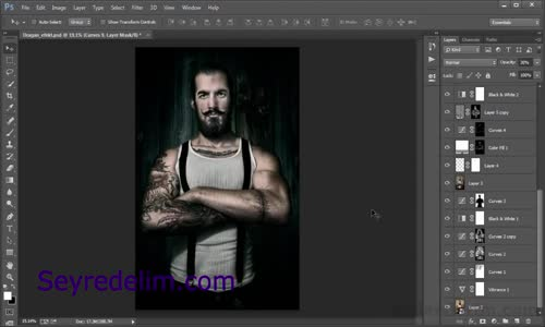 Dragan, Foto Efekt Eğitimi [Photoshop Dersleri]