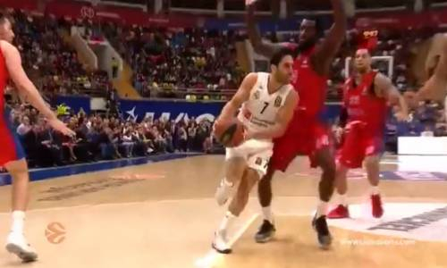 CSKA Moskova 82 - 78 Real Madrid Basketbol Özeti İzle