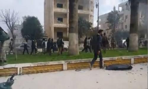 İdlib'de 2 ayrı noktada patlama Çok sayıda ölü ve yaralı var