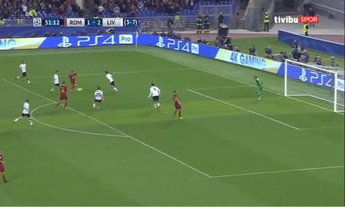 Roma 4 - 2 Liverpool UEFA Şampiyonlar Ligi Yarı Final Maç Özeti