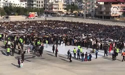 7 Bin 700 Kişiyle Atatürk Portresi