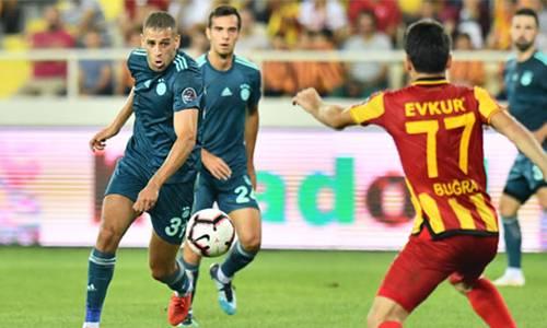 Evkur Yeni Malatyaspor 1 - 0 Fenerbahçe Maç Özeti