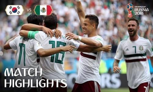 Güney Kore 1 - 2 Meksika - 2018 Dünya Kupası Maç Özeti
