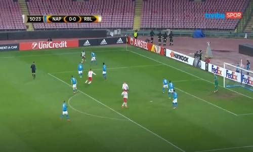 Napoli 1 - 3 Leipzig  UEFA Avrupa Ligi Maç Özeti