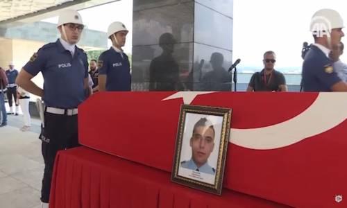 Şehit Polis Memuru Şahin Son Yolculuğuna Uğurlandı