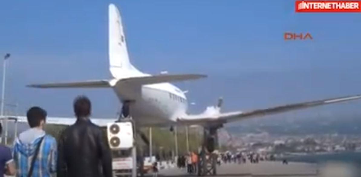 Uçağı Tramplen Olarak Kullanıyorlardı