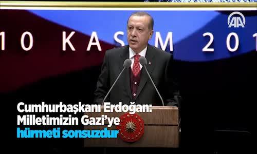 Beştepe'de 10 Kasım Atatürk'ü Anma Töreni