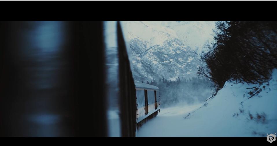 Bir Trenle Alaska Çevresinde Muhteşem Bir Gezintiye Ne Dersiniz?