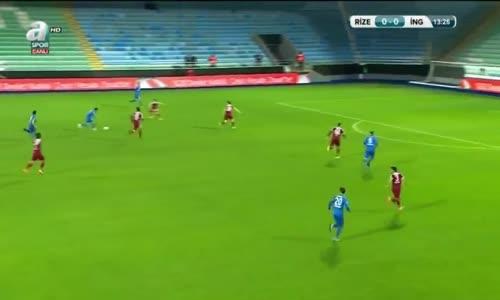 Rizespor - İnegölspor 5 -  0- MAÇIN GENİŞ ÖZETİ 01.12.2016