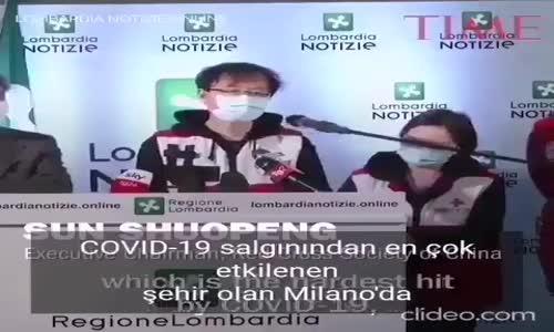 İtalya'da Bulunan Çin Sağlık Ekibi Açıklaması
