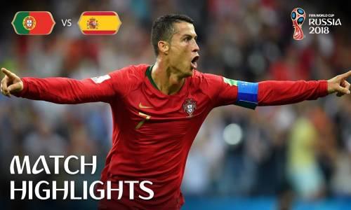 Portekiz 3 - 3 İspanya - 2018 Dünya Kupası Maç Özeti