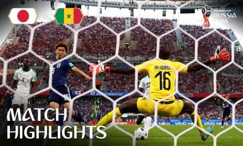 Japonya 2 - 2 Senegal - 2018 Dünya Kupası Maç Özeti