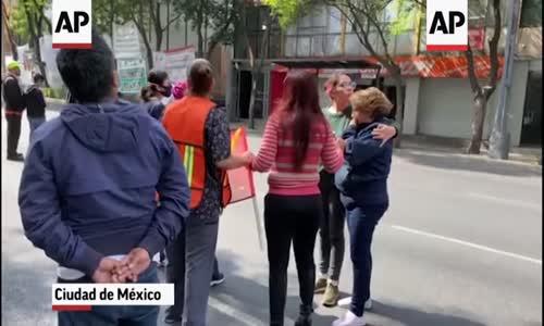 Orta ve güney Meksika'da güçlü deprem 7.4  bir ölü