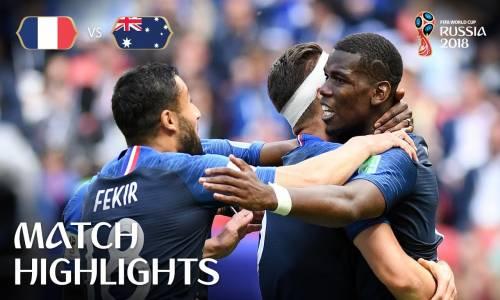 Fransa 2 - 1 Avusturya - 2018 Dünya Kupası Maç Özeti