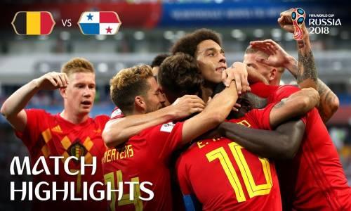 Belçika 3 - 0 Panama - 2018 Dünya Kupası Maç Özeti