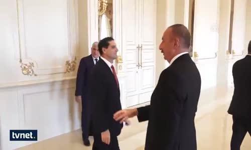 Dışişleri Bakanı Mevlüt Çavuşoğlu, Aliyev İle Görüştü