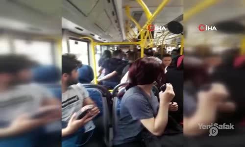 Antalya'da Halk Otobüsünde Taciz İddiası