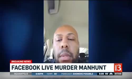 Facebook Canlı Yayını Sırasında Yaşlı Bir Adamı Öldüren Kişi Aranıyor!