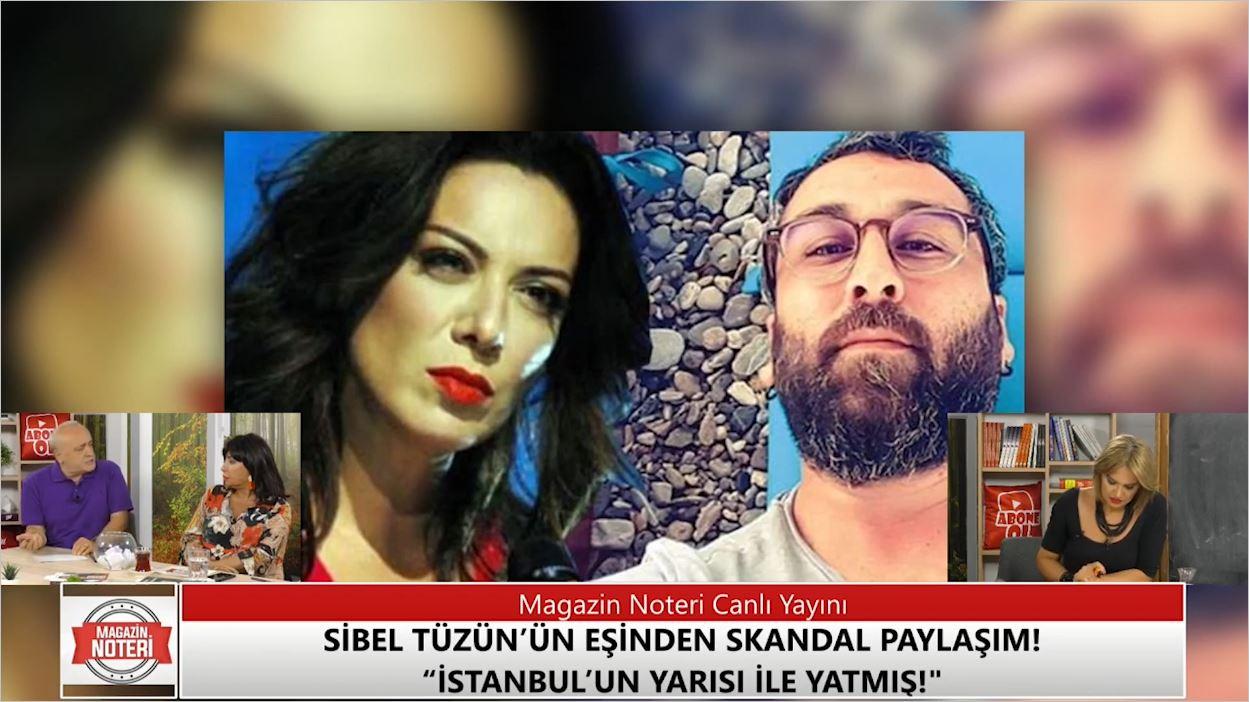Sibel Tüzün'ün Eşinden Skandal Paylaşım