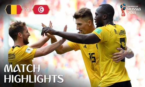 Belçika 5 - 2 Tunus - 2018 Dünya Kupası Maç Özeti